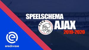 Bekijk het complete speelschema van Ajax