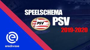 Bekijk het complete speelschema van PSV