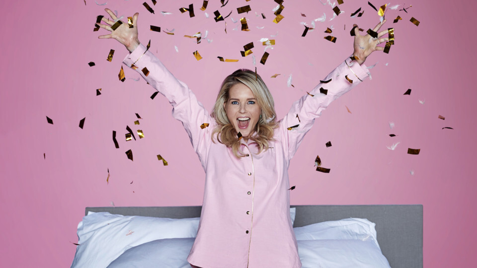 Chantal Janzen geeft pyjama party in Ziggo Dome