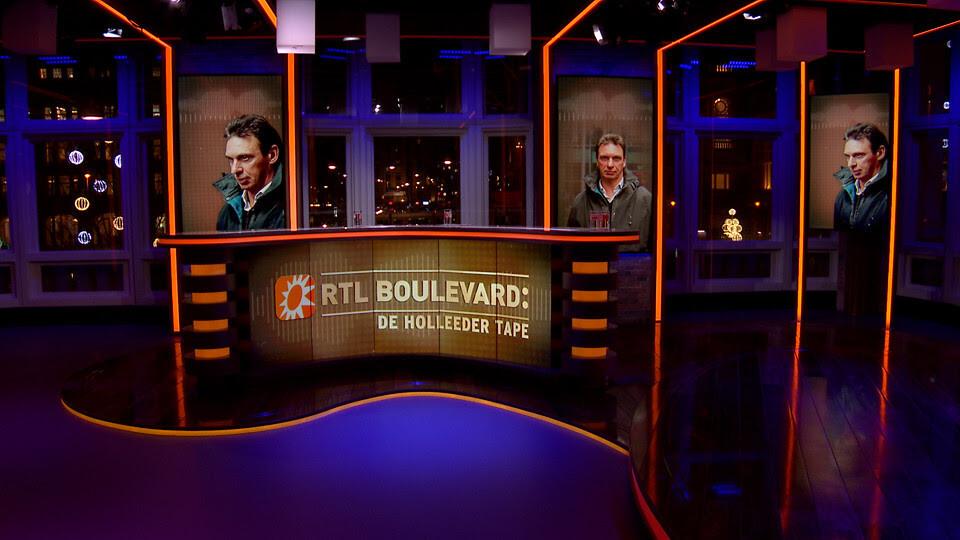De Holleeder tape van Peter R. de Vries te zien bij RTL