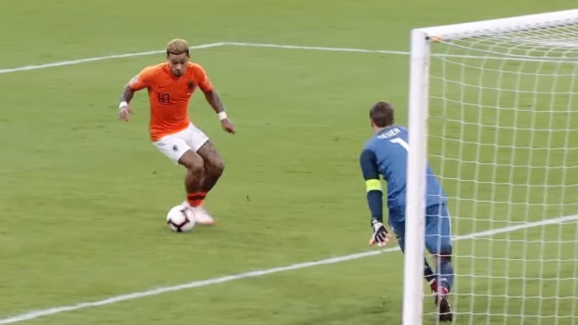 Duitsland - Nederland live op tv