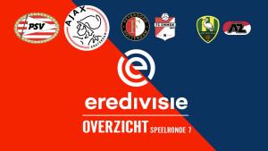 Eredivisie speelronde 7: Het weekend van de topper