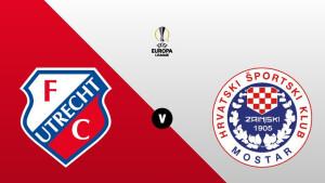 FC Utrecht - Zrinjski Mostar live op tv in voorronde Europa League