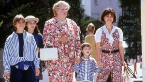 Feelgoodfilm Mrs. Doubtfire zaterdag op België Eén en te streamen via o.a. Pathé Thuis