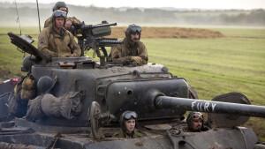 Geweldige oorlogsfilm Fury vanavond te zien op RTL 7