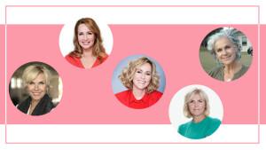 Helga van Leur, Angela Groothuizen en Irene Moors gastpresentatrices in Koffietijd