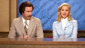 Hilarische comedy Anchorman: The Legend of Ron Burgundy dinsdag op Comedy Central