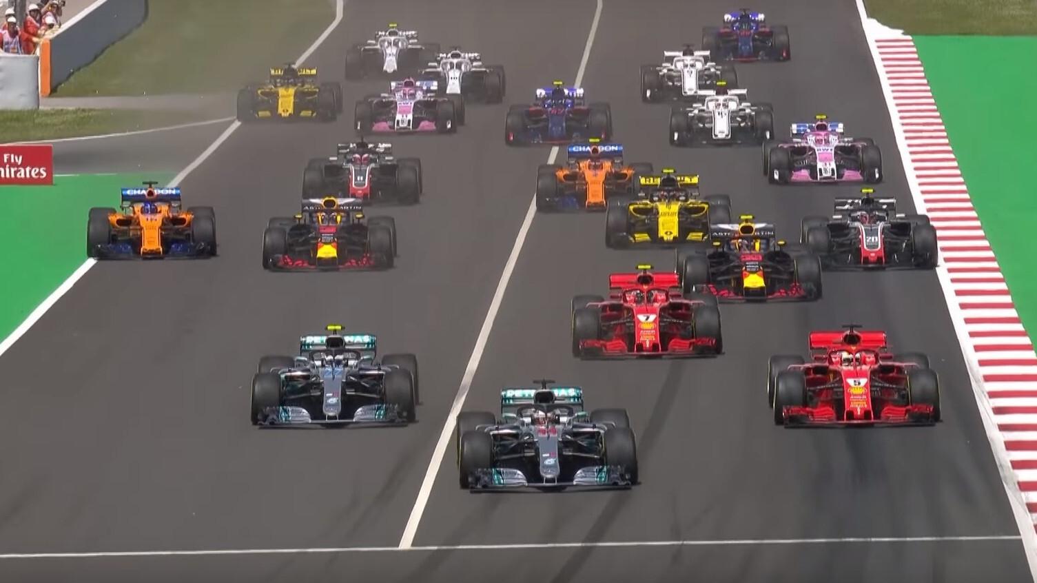 Hoe laat begint de Formule 1 GP van de Verenigde Staten 2018?