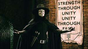 Indrukwekkende film V for Vendetta zaterdag te zien op Veronica