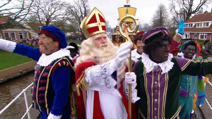 Intocht Sinterklaas in Zaanstad live op tv