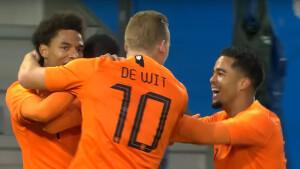 Jong Noorwegen - Jong Oranje live op tv (EK-kwalificatie)