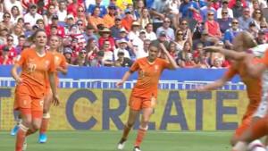 Kijkcijfers zondag: 5,5 miljoen zien Oranjeleeuwinnen verliezen van Verenigde Staten in WK-Finale