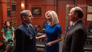 Komedische scifi-serie Space Force vanaf vrijdag te zien op Netflix