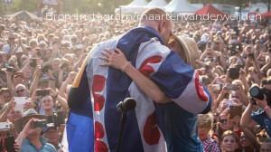 Maarten van der Weijden vertelt bij talkshow M over Elfsteden Zwemtocht
