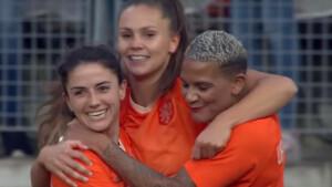 Nederland - Japan live op tv