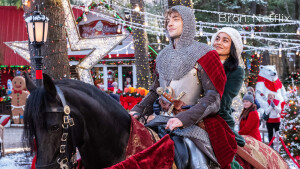 Netflix recensie: The Knight Before Christmas is over-de-top romance