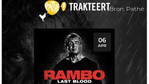 Pathé Thuis 6 april: bekijk de code voor Rambo: Last Blood