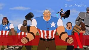 Recensie: America: The Motion Picture is volledige over-de-top geschiedenisles