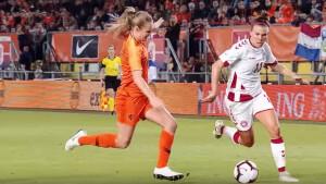 Return Denemarken - Nederland live op tv in WK-play-offs