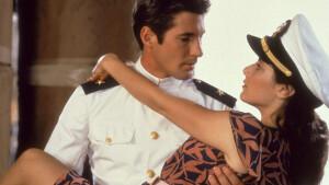 Romantische filmklassieker An Officer and a Gentleman maandag te zien op Net 5