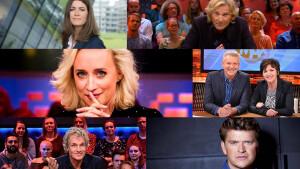 Talkshowoorlog gaat echt beginnen: wie wordt de koning(in) van de televisie?