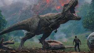 Tv-première Jurassic World: Fallen Kingdom zie je dinsdag op Veronica