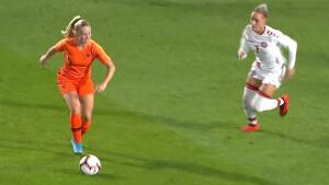 Vrouwenvoetbal Nederland - Australië live op tv