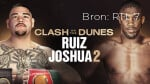 WK Boksen: Ruiz Vs. Joshua - Clash On The Dunes