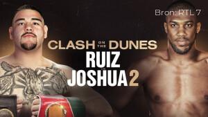 WK boksen Ruiz vs. Joshua live op tv