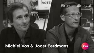 Woensdag in Jinek: Joost Eerdmans en Michiel Vos over debat Biden vs. Trump